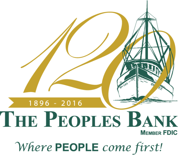 The Peoples Bank 120th Anniversary Logo