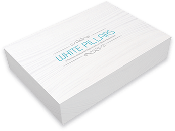 Packaging for White Pillars Video Card
