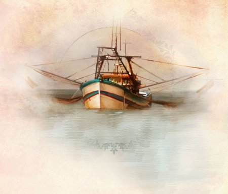 Wild American Shrimp Boat