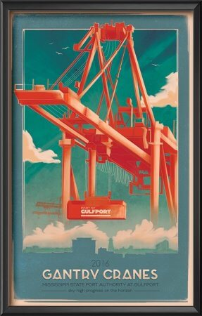 Port of Gulfport Gantry Cranes