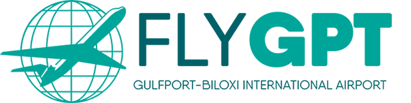 FlyGPT Gulfport International Airport Logo