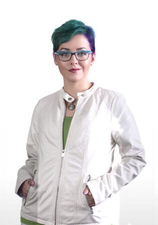 Graphic Designer Tara Gerald