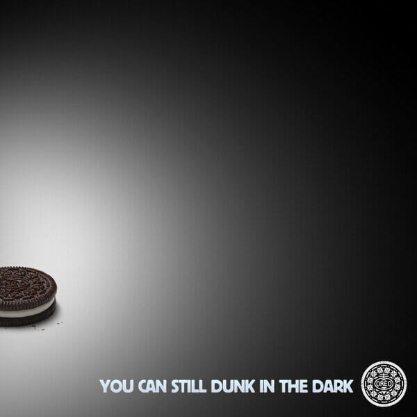 Oreo You Can Dunk in the Dark