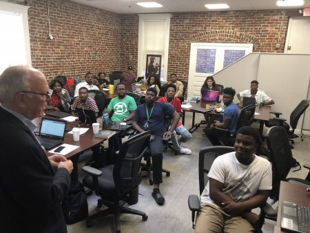 The Focus Group Visits Mississippi Coding Academies in Jackson