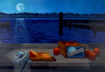 Blue Moon Art Project Examples